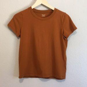 Madewell Rust orange 🍊 Basic Tee